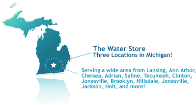 The Water Store - Two Locations in Jackson Michigan